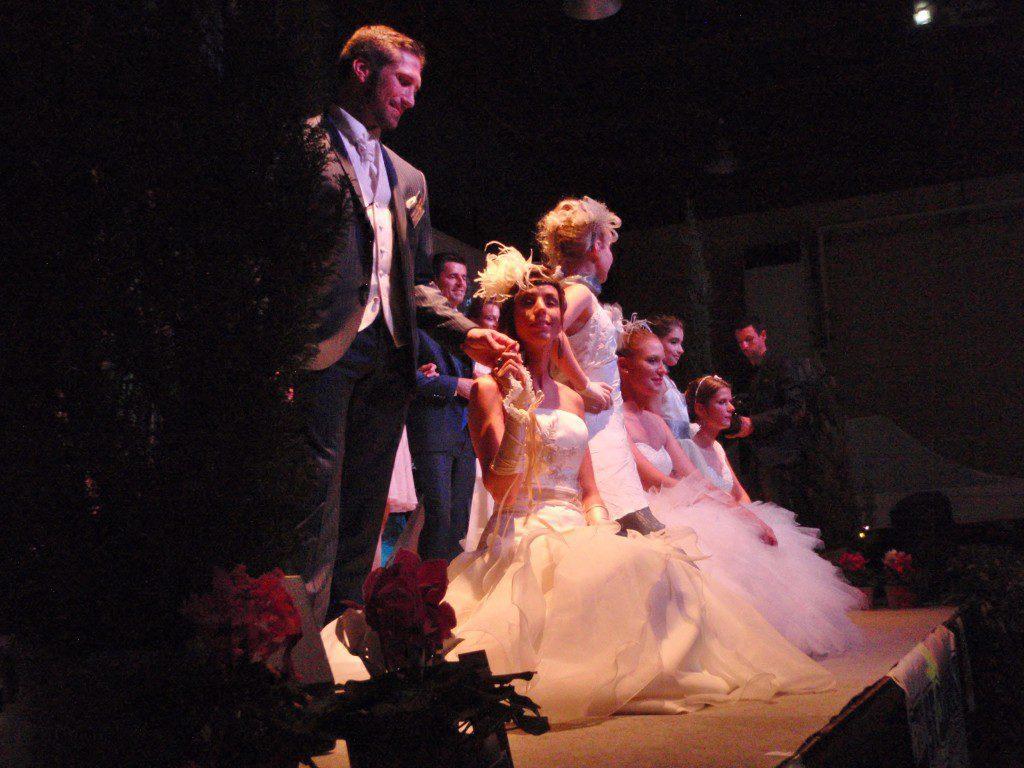 Echantillons de robes de mariages