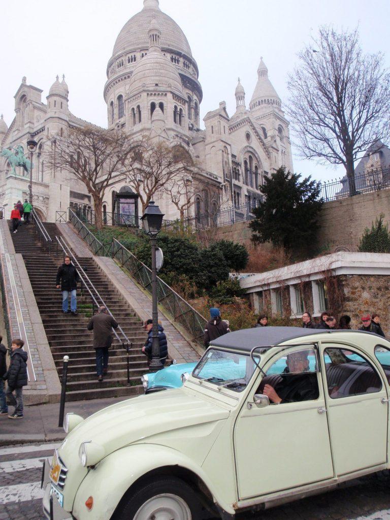 Traversée hivernale de Paris