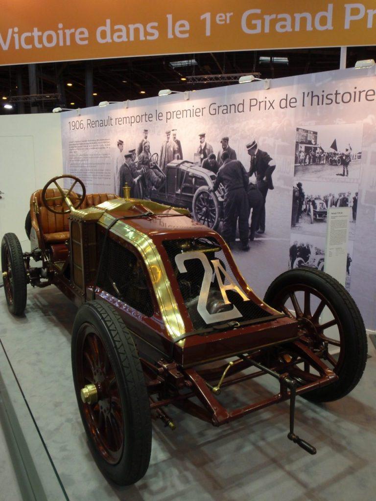 Renault et la compétition en 1906