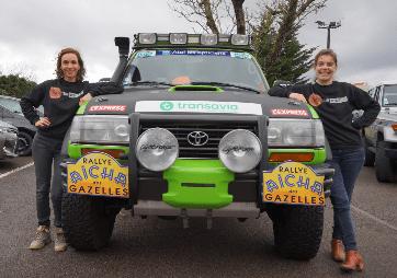 Rallye de Gazelles Team Magazelles 2017