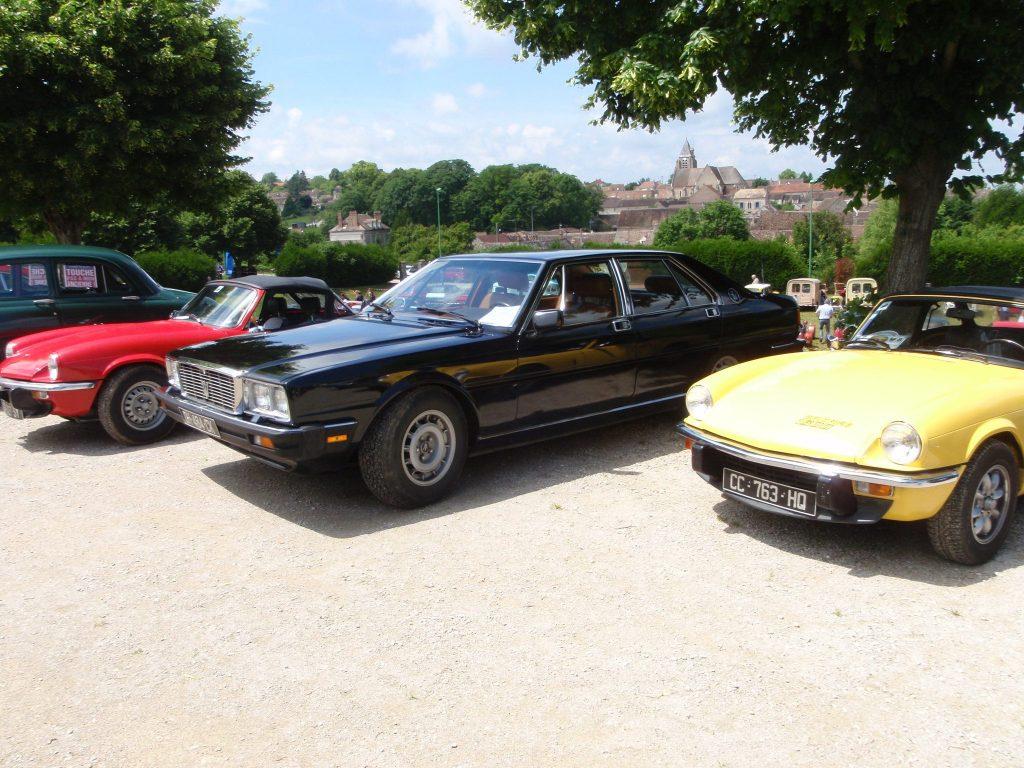 Maserati Quatroporte de 1983 moteur V8 de 4,9 litres