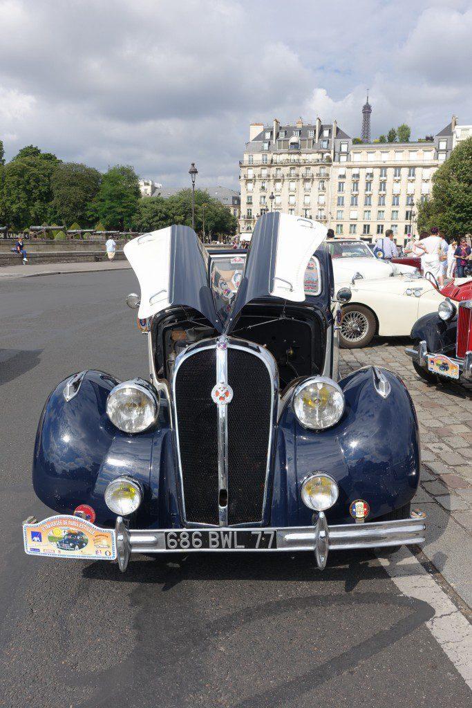 Hotchkiss à La traversée de Paris estivale 2016