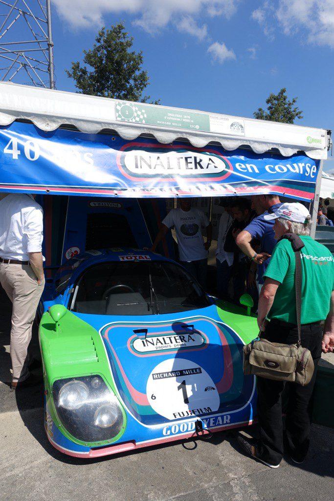 Le Mans Classic et les automobiles Inaltera