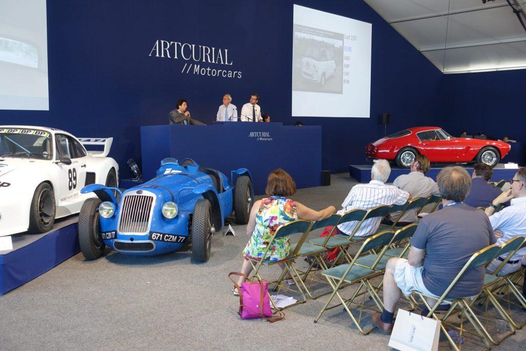Le Mans Classic enchères Artcurial 2016