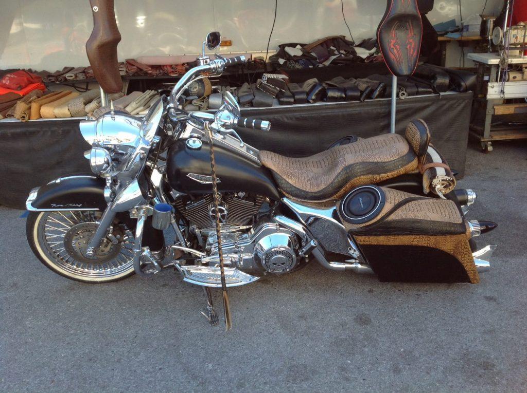 Harley Davidson à Panama city Beach en Floride