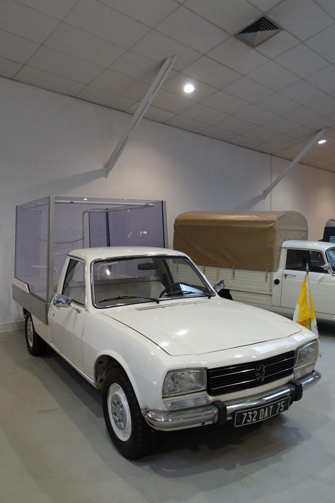 Musée de l'aventure Peugeot les utilitaires