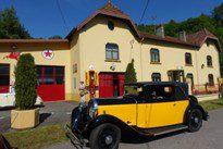 Club Hotchkiss Rallye national 2017 dans les Vosges: passé industriel et thermalisme