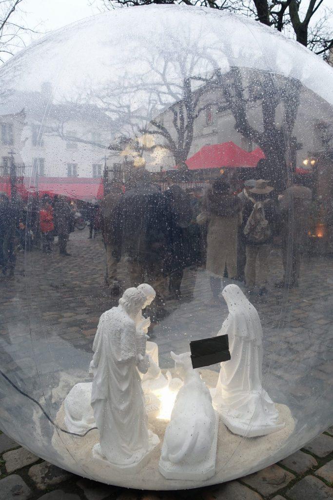 Traversée hivernale de Paris janvier 2018