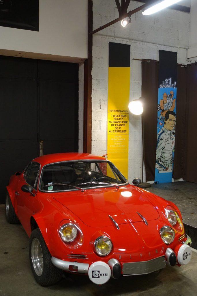 Auto Sport Museum vernissage Alpine Gordini Renault sport