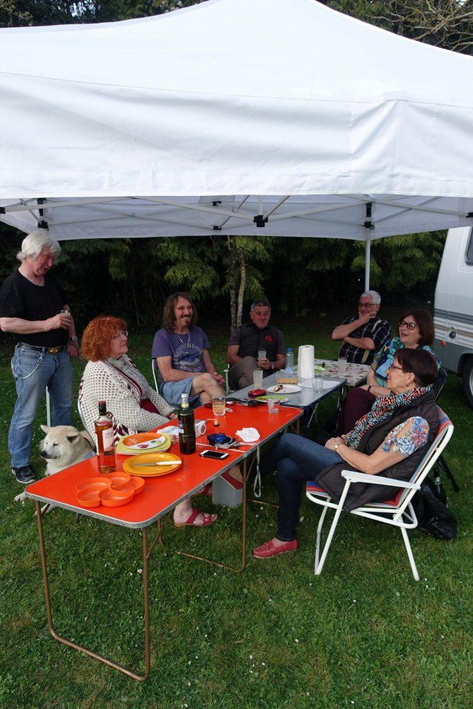 Bourse exposition de Courtenay 2018: Le rétro camping.
