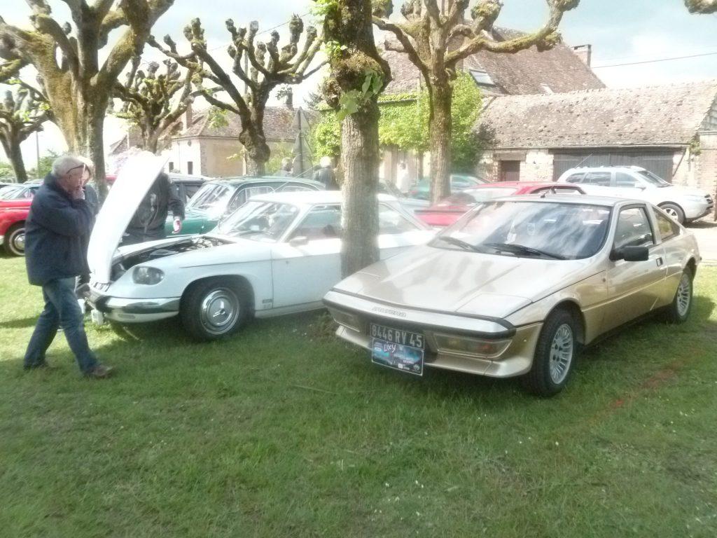 18ème exposition de véhicules anciens et promenade Lixy 20 mai 2018