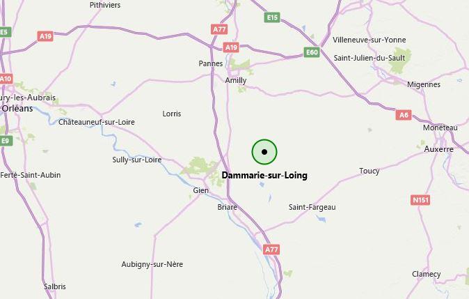Rassemblement Dammarie-sur Loing juin 2018