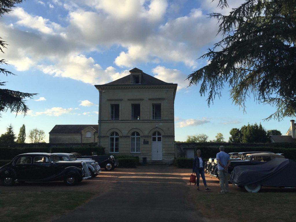 Rallye de l'association des clubs de marque au pays de Rabelais 1