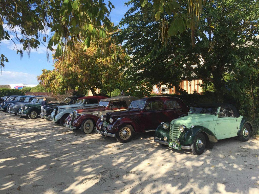 Rallye d'Automne octobre 2018 Hotchkiss 3