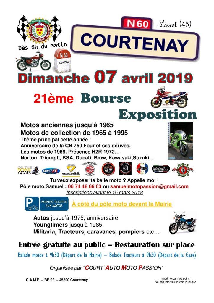 Rendez vous mensuel Courtenay Auto Moto Passion décembre 2018