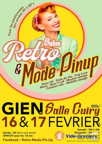 Salon Rétro & Mode Pinup Gien février 2019