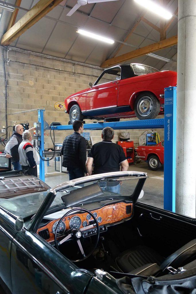 Portes ouvertes Auto Légende Manufacture