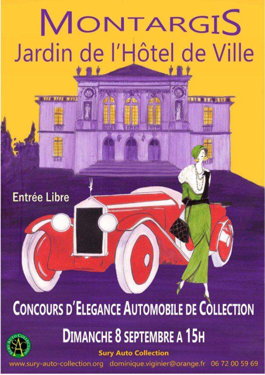 Concours élégance Montargis septembre 2019