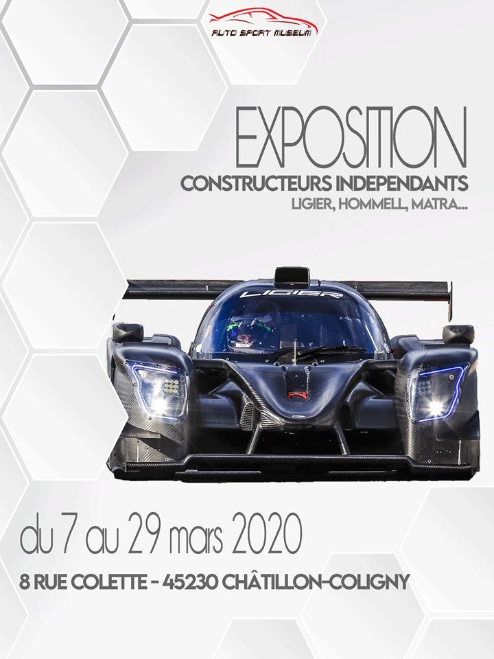 Soirée Ouverture exposition temporaire Auto Sport Muséum Chatillon Coligny